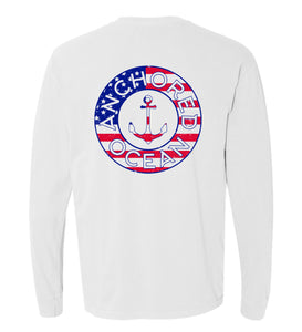 AO USA Long Sleeve Tee