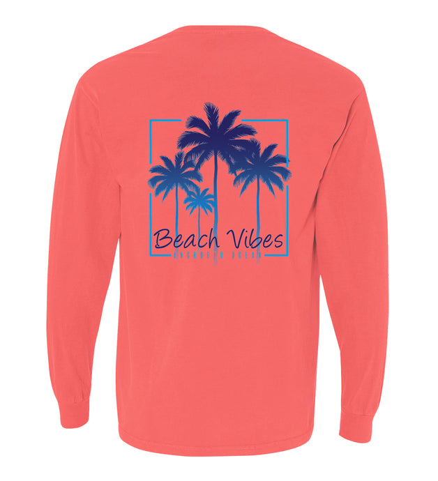 Beach Vibes Long Sleeve Tee