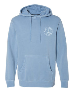 Live Life Anchored Hooded Fleece