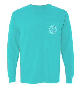 Mermaid Long Sleeve Pocket Tee