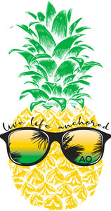 "4"" Pineapple Sticker"