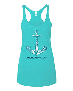 Anchor Waves Ladies Tank