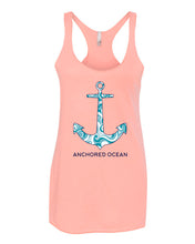 Load image into Gallery viewer, Anchor Waves Ladies Tank