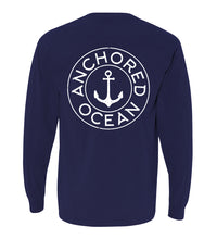 Load image into Gallery viewer, AO Circle Long Sleeve Pocket Tee