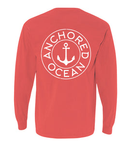AO Circle Long Sleeve Pocket Tee