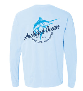 AO Marlin Long Sleeve Pocket Tee