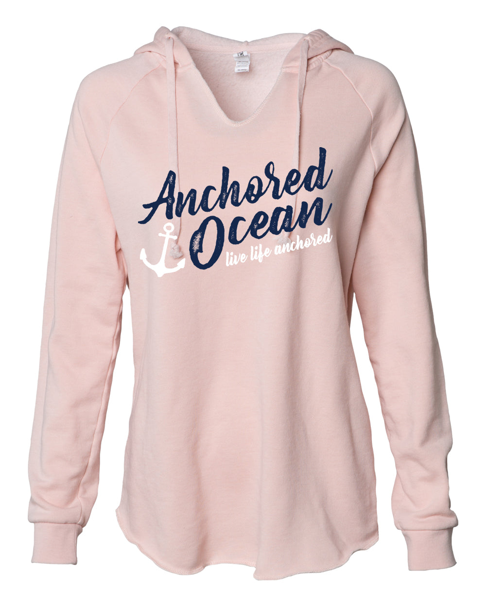 Anchor Off Shoulder Sweatshirt for Women White Anchor Oversized Sweater Boat Anchor Sweatshirt Marine Gifts for Her Women/'s Navy Sweater
