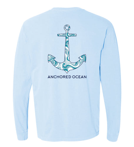 Anchor Waves Long Sleeve Tee