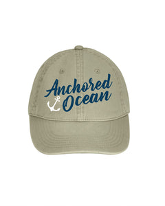 Anchor Dad Cap
