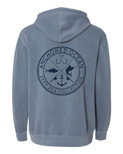 Load image into Gallery viewer, Deep Sea Hooded Fleece