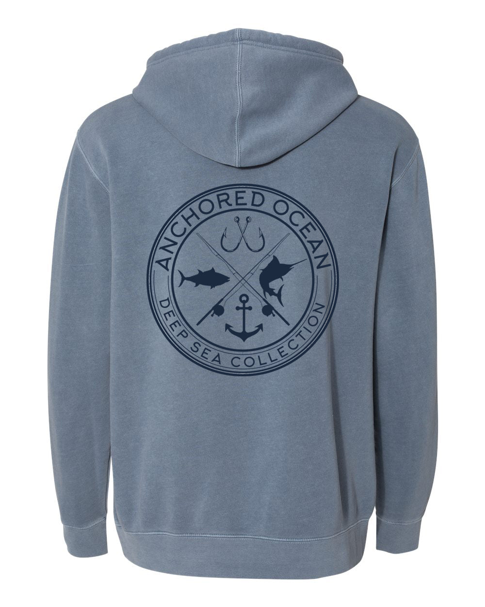 Deep Sea Hooded Fleece