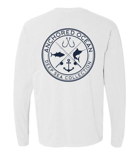 AO Deep Sea Longsleeve Pocket Tee