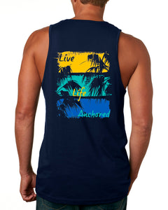 Painted Palms Men's Tank