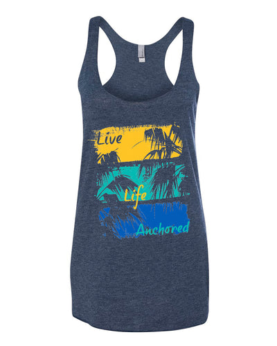 Painted Palms Ladies Tank