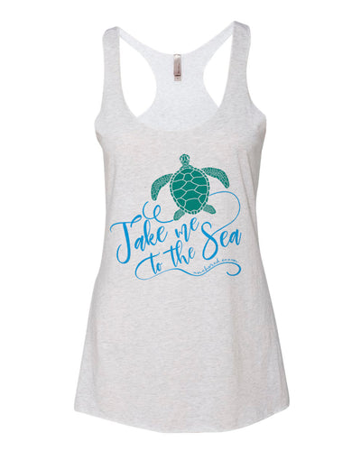 Sea Turtle Ladies Tank