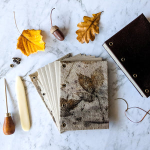 EVENING COURSE: MAKE YOUR OWN NATURE JOURNAL, 12 October - 16 November 2020 - Beginners and Intermediate