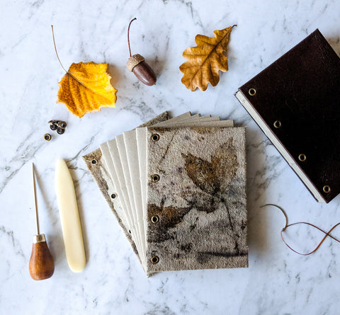 Make Your Own Nature Journal - Bookbinding Course with Josie Cosgrove