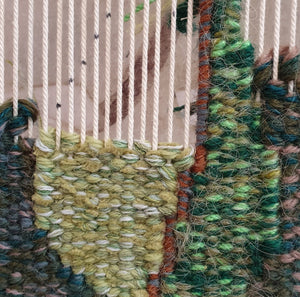 NEW! STUDIO: WEAVING GREEN, 8 - 29 September 2020, Beginners to Intermediate