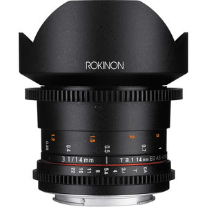Rokinon 14mm T3.1 Cine for Canon