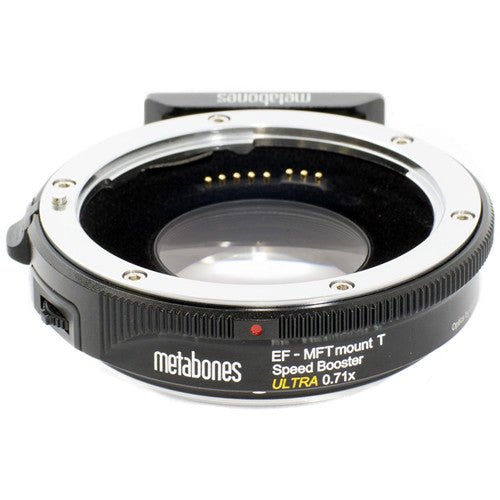 Metabones Speed Booster 0.71x Adapter for EF to Micro Four Thirds-Mount Camera