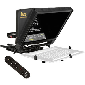 ikan Elite Pro Universal Large Tablet Teleprompter with Remote