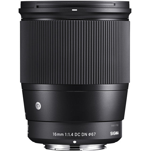 Sigma 16mm f/1.4 DC DN Contemporary (Crop) for Sony E