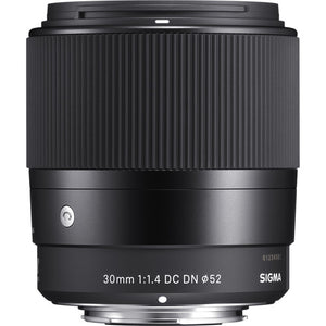 Sigma 30mm f/1.4 DC DN Contemporary (Crop) for Sony E