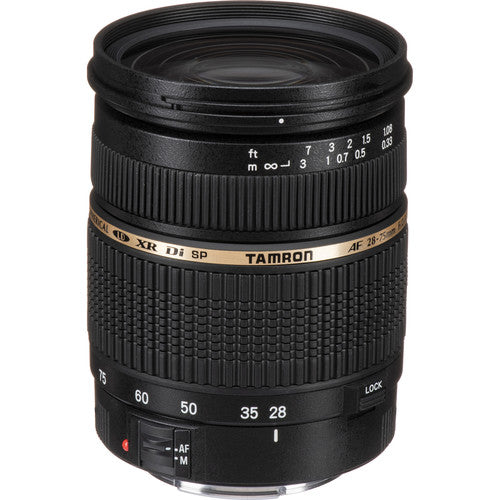 Tamron SP 28-75mm F/2.8 XR Di for Canon EF