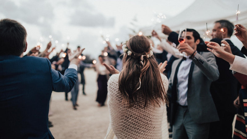 Breaking wedding traditions