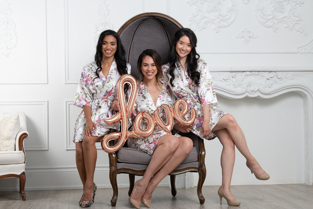 Robes for brides and bridesmaids