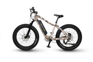 ECOTRIC Fat Tire Beach Snow E-Bike - Orange