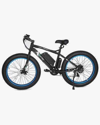 ECOTRIC Fat Tire Beach Snow E-Bike - Blue