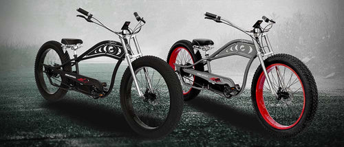 Micargi Cyclone 500W Electric Beach Cruiser