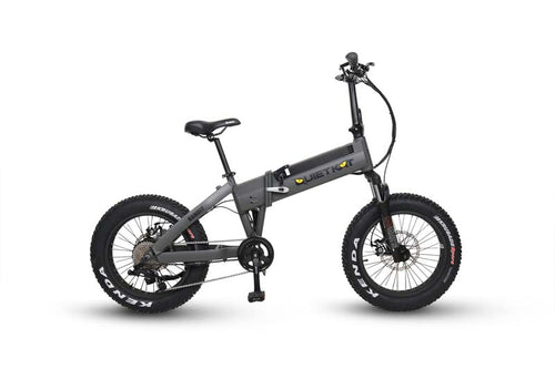 QuietKat Bandit 750W 48V Fat Tire Foldable Mountain E Bike