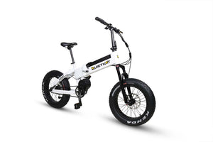 QuietKat Voyager 750W 48V Fat Tire Folding Mountain E Bike