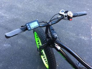 BIG CAT® Fat Cat XL 500W Electric Fat Tire Bike Handlebars