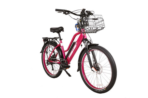 Catalina 48 Volt Electric Step-Through Beach Cruiser Bicycle
