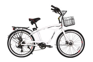 Newport Elite 24 Volt Beach Cruiser Electric Bike