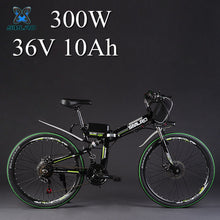 "SMLRO 24"" 36/48V 300/500W Folding Electric Bicycle"