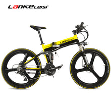 LANKELEISI XT750 250W 36V Folding Mountain E Bike