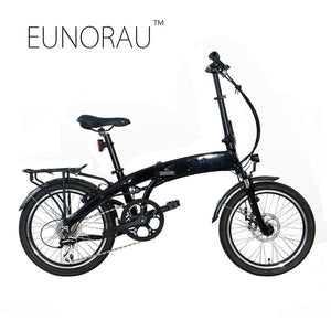 EUNORAU 250W 36V Folding Aluminum Alloy E Bike