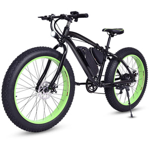 Electric Fat Tire Bike Mountain Snow Bicycle E-Bike