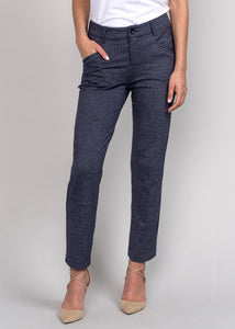Darcy Cropped Pant Charcoal