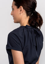 Solo Peplum Top Charcoal