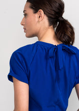 Solo Peplum Top Royal