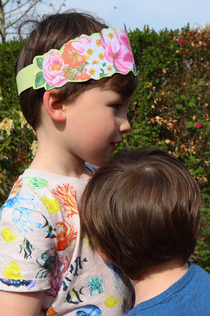 Free Beautiful Flower Crown Printable