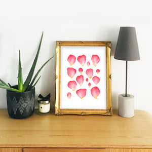 A Family of Rose Petals - Signed Giclée Art Print