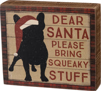 Box Sign - Squeaky Stuff