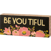 Box Sign - Be You Tiful