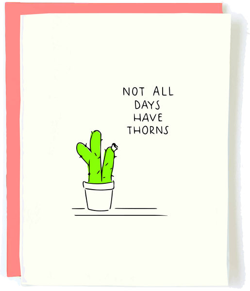 Cactus Encouragement Card